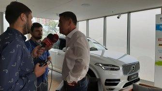 Konferencja prasowa przed Orlen Baja Poland, Volvo Car Warszawa