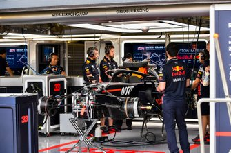 Red Bull Racing RB15 in the garage