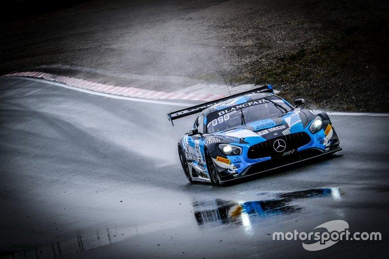 #90 Akka ASP Team Mercedes-AMG GT3: Timur Bogulavskiy, Felipe Fraga
