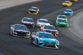 Martin Truex Jr., Joe Gibbs Racing, Toyota Camry Auto Owners Insurance, Erik Jones, Joe Gibbs Racing, Toyota Camry Craftsman