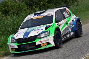 Corrado Pinzano, Roberta Passone, Skoda Fabia R5, New Drivers Team