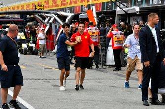 Charles Leclerc, Ferrari con il fratello Lorenzo Tolotta-Leclerc