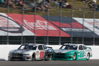 Austin Cindric, Team Penske, Ford Mustang MoneyLion Chase Briscoe, Stewart-Haas Racing, Ford Mustang Ford Performance