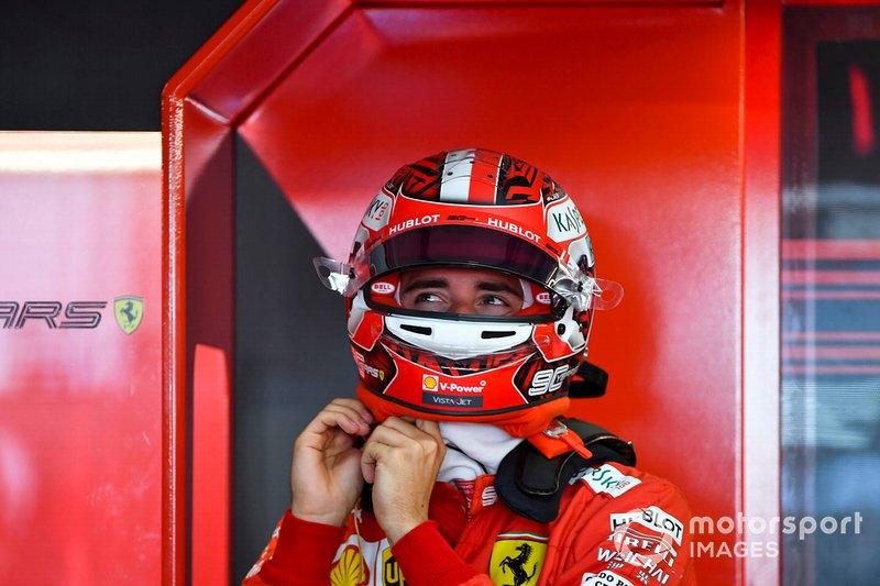 10: Charles Leclerc, Ferrari, no time