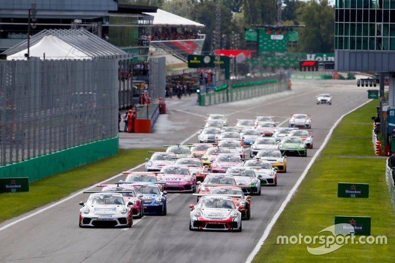 Partenza della gara a Monza