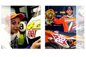 Valentino Rossi, Tony Cairoli et la malédiction du numéro 9