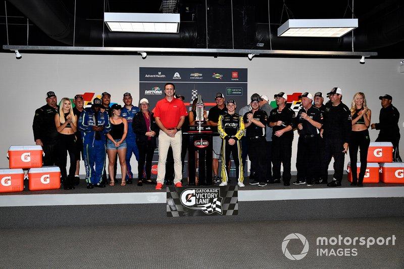 1. Justin Haley, Spire Motorsports, Chevrolet Camaro Fraternal Order of Eagles