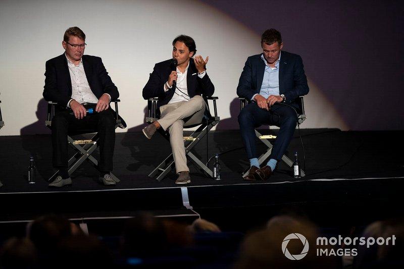 Mika Hakkinen, Felipe Massa, Tom Kristensen