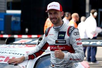 Обладатель поула Рене Раст, Audi Sport Team Rosberg