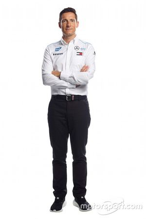 Ian James, director ejecutivo de Mercedes-Benz Formula E