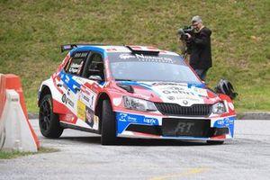 Ivan Ballinari, Gabriele Pagani, Skoda Fabia R5, Lugano Racing Team
