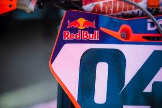 Andrea Dovizioso motocross bike detail