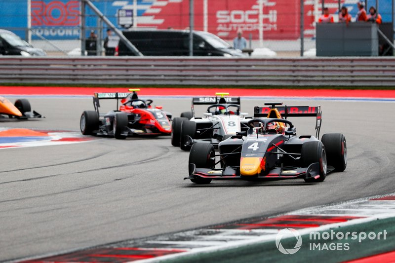 Liam Lawson, MP Motorsport y Fabio Scherer, Sauber Junior Team by Charouz
