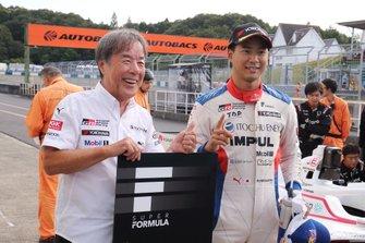 Polesitter Ryo Hirakawa, Team Impul, Kazuyoshi Hoshino