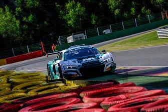 #129 Audi Sport Team Land Motorsport Audi R8 LMS GT3 2019: Christopher Mies, Riccardo Feller, Jose Maria Lopez