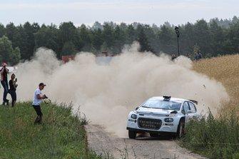 Hiroki Arai, Ilka Minor, Citroen C3 R5, FIA ERC, Rally Poland