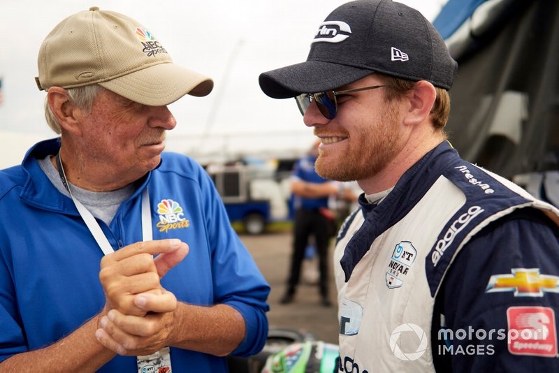 Conor Daly, Carlin Chevrolet with Robin Miller