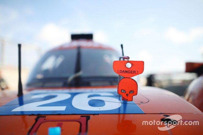 Aurus 01 команды G-Drive Racing на гонке «4 часа Шанхая»