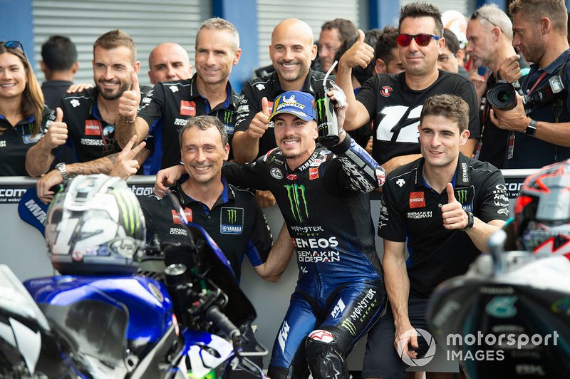 Segundo Maverick Vinales, Yamaha Factory Racing
