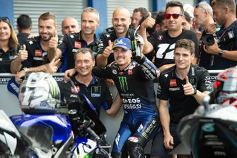 Tweede plaats Maverick Vinales, Yamaha Factory Racing