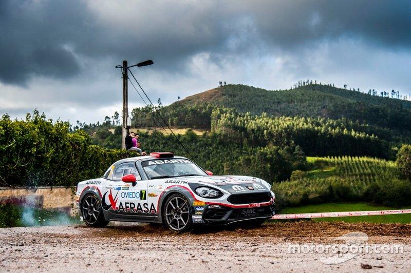Alberto Monarri - Alberto Chamorro (Abarth 124 Rally R-GT)