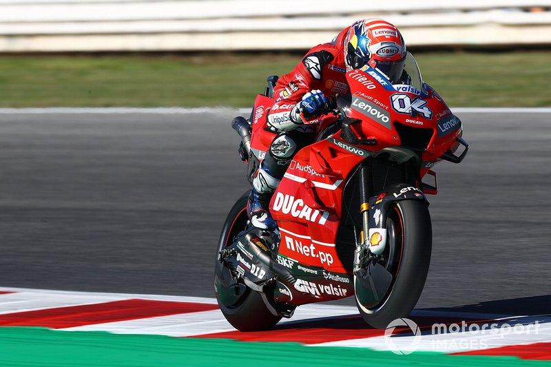Andrea Dovizioso, Ducati Team - 4 caídas