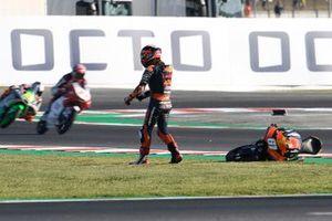 Sturz: Can Öncü, KTM Ajo