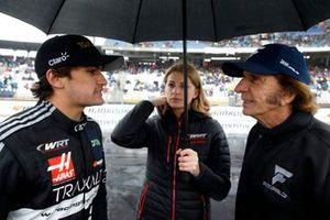 Pietro Fittipaldi, Audi Sport Team WRT, mit Großvater Emerson Fittipaldi