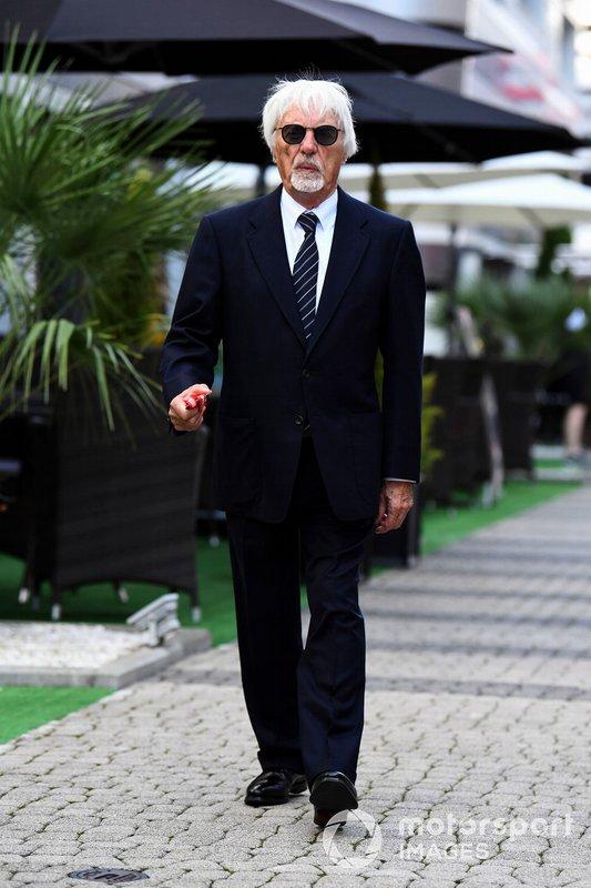 Bernie Ecclestone, Presidente Emiritus de Fórmula 1