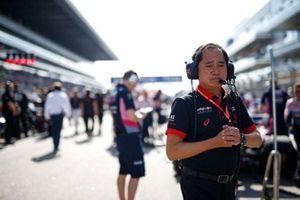Toyoharu Tanabe, F1 technisch directeur Honda