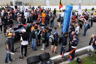 #22 United Autosports Ligier JSP217 Gibson: Philip Hanson, Filipe Albuquerque on the grid