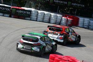 Янис Бауманис, STARD, Ford Fiesta ST MK8, и Никлас Гронхольм, GRX Taneco Team, Hyundai i20