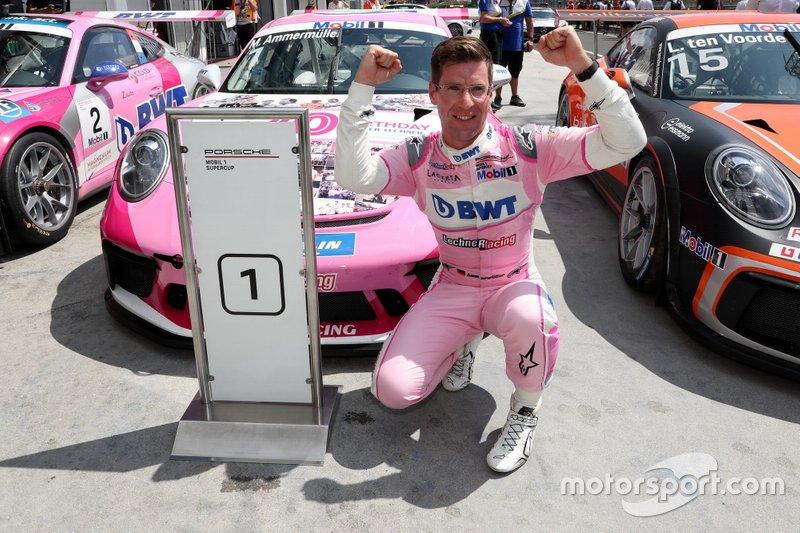Race winnaar Michael Ammermüller, BWT Lechner Racing