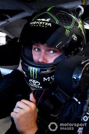 Riley Herbst, Joe Gibbs Racing, Toyota Supra Monster Energy