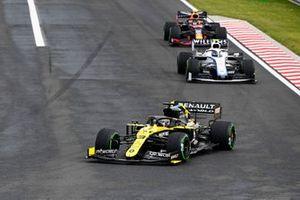 Daniel Ricciardo, Renault F1 Team R.S.20, Nicholas Latifi, Williams FW43, Alex Albon, Red Bull Racing RB16