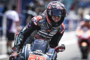 Yarış galibi Fabio Quartararo, Petronas Yamaha SRT