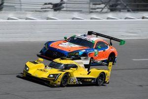 #85: JDC-Miller Motorsports Cadillac DPi, DPi: Chris Miller, Tristan Vautier, #74: Riley Motorsports Mercedes-AMG GT3, GTD: Lawson Aschenbach, Gar Robinson