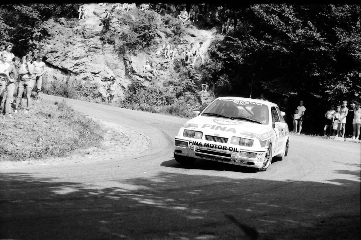 Omer Saelens, Jeannick Breyne, Ford Sierra RS Cosworth