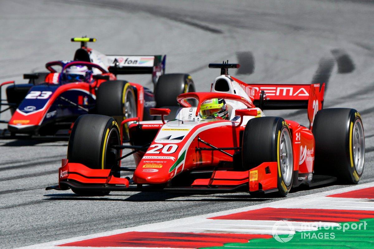 Mick Schumacher, Prema Racing, Marino Sato, Trident