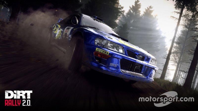 Contenido de FLAT OUT: Collin McRae en DiRT Rally 2.0