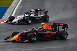 Liam Lawson, Hitech Grand Prix and Alexander Smolyar, ART Grand Prix