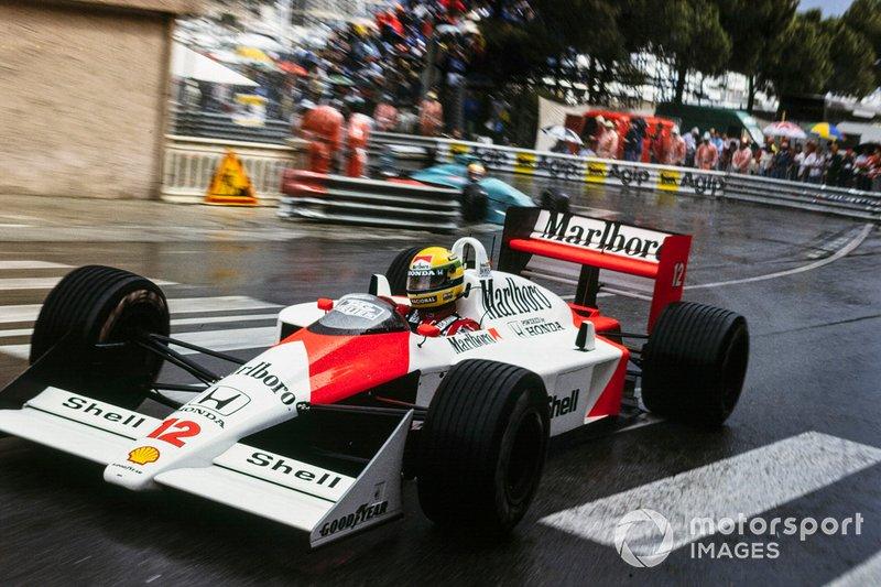 Vueltas rápidas: Ayrton Senna 12%