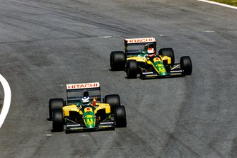Mika Häkkinen, Lotus 102D Ford, Johnny Herbert, Lotus 102D Ford