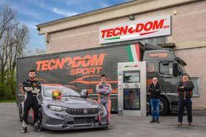 Jonathan Giacon, Kevin Giacon, Domiziano Giacon, Massimo Del Prete, Tecnodom Sport, Fiat Tipo TCR