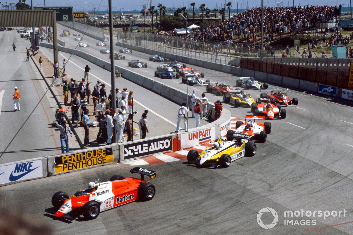 1982 US Grand Prix West - Long Beach