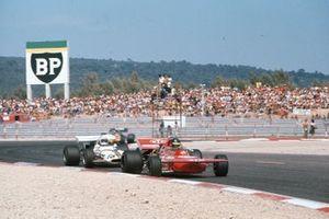 Ronnie Peterson, March 711 Ford, Howden Ganley, BRM P160, GP di Francia del 1971
