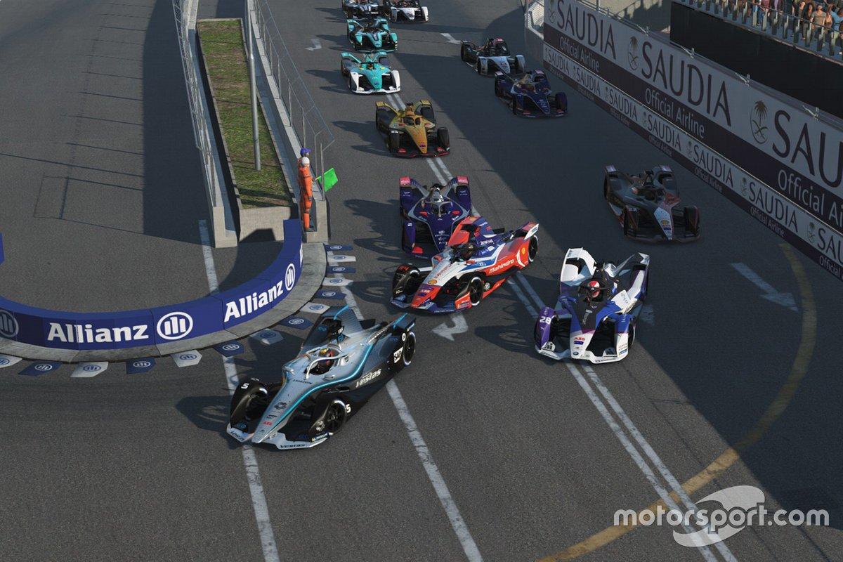 Formula E: Gara al Home Challenge - Gara 1