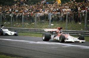 Peter Gethin, BRM P160C, Tim Schenken, Surtees TS9B Ford