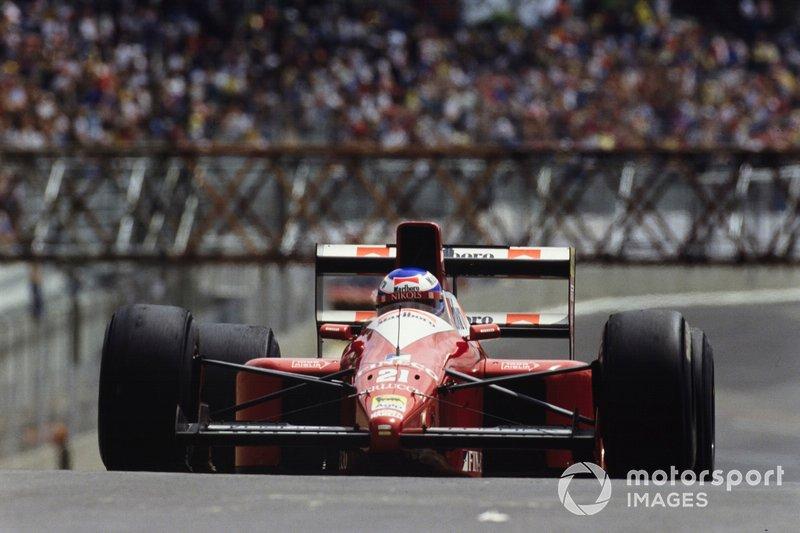 #21: Gianni Morbidelli (Scuderia Italia)