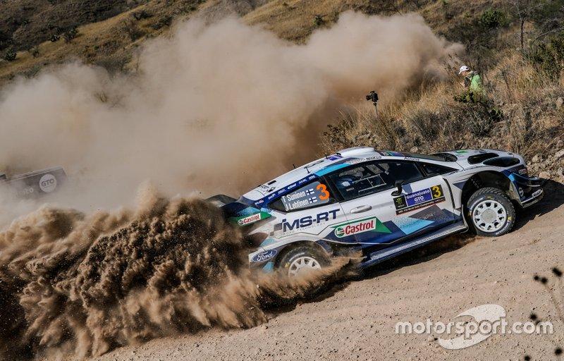 Теему Сунинен и Ярмо Лехтинен, Ford Fiesta WRC